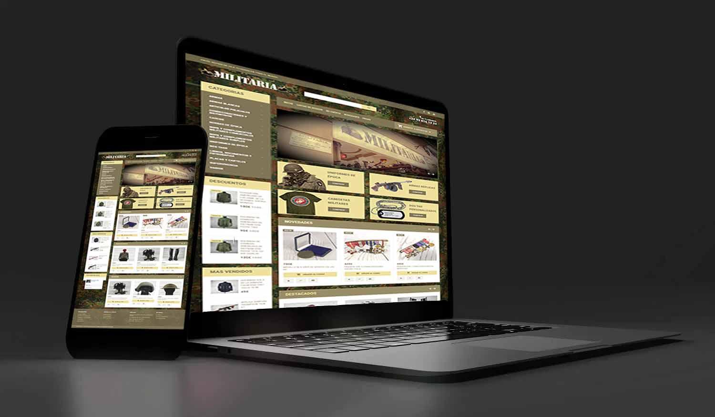 systemjosmar paginas web diseño ecommerce militaria opencart